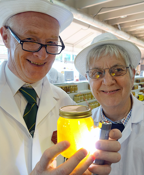 Honey Judge Paul Boyle and Margaret Murdin