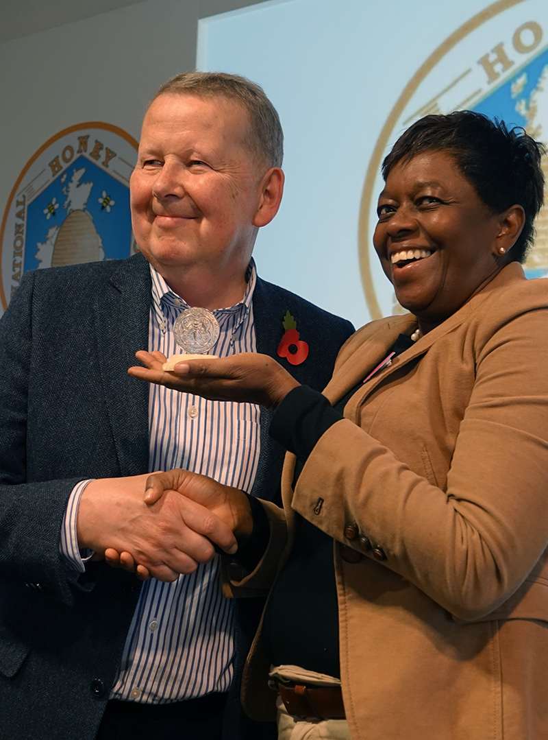 2018 prize winner presented by Bill Turnbull